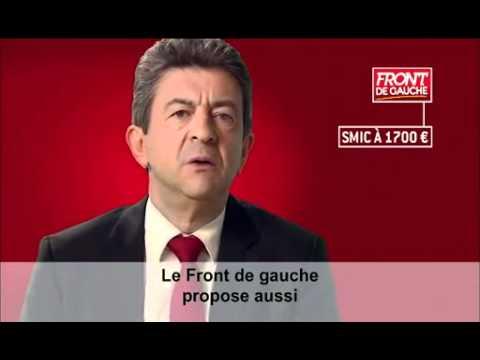 Jean-Luc Melenchon : clip officiel de campagne 2012