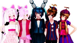 getlinkyoutube.com-[MMD x FNAF] Lean On