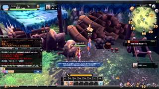 getlinkyoutube.com-Fantasy Frontier Online - Greatsword(Holy sword) GAME PLAY