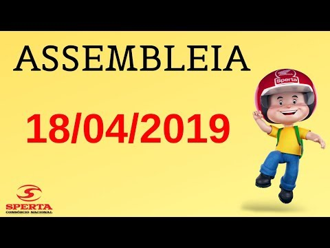 Sperta Consórcio - Assembleia - 18/04/2019