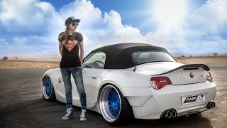getlinkyoutube.com-Bagged BMW Z4 3.0 | Laura | PetrolHead.ME