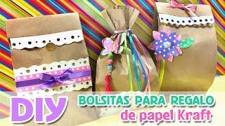 getlinkyoutube.com-Bolsitas para regalo, Bolsitas para dulces, Decoración de fiestas infantiles