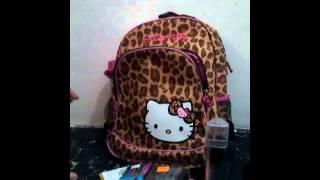 getlinkyoutube.com-{ماذا يوجد في حقيبتي المدرسيه } {{صمود }}♥