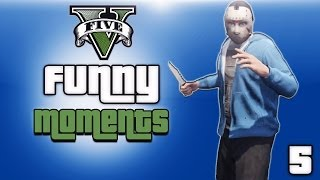 getlinkyoutube.com-GTA 5 Online Funny Moments Ep. 5 (KYR SP33DY, Vanoss And Friends)