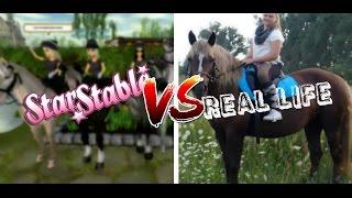 StarStable Online Vs Real Life