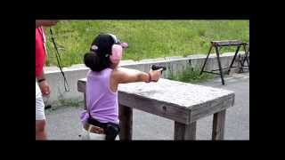 getlinkyoutube.com-Amazing 9 Year Old Competitive Shooter Shyanne Roberts