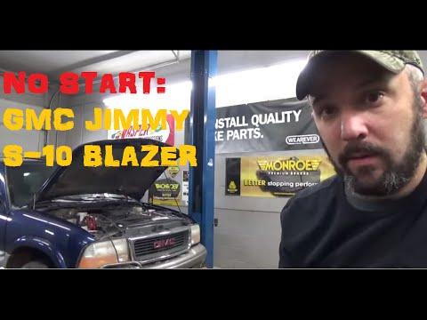 No Start Spark OK - GMC Jimmy Blazer