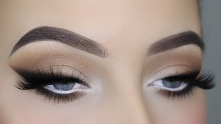 getlinkyoutube.com-Smoked Out Winged Liner Tutorial