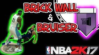 getlinkyoutube.com-NBA 2K17 BRUISER BADGE 17 | BRICK WALL | CATCH N SHOOT | BADGE | HOF | HALL OF FAME | FAST TUTORIAL
