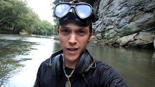 getlinkyoutube.com-River Treasure! - Iphone 6, Camera, Rings, Knives and More!