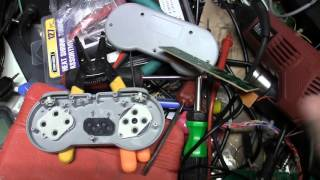 getlinkyoutube.com-$2 Chinese SNES Controller to Arcade Stick Hack