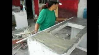getlinkyoutube.com-ขั้นตอนการผลิต Counter Sink cement foam