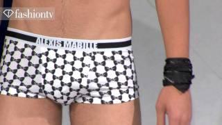 getlinkyoutube.com-Robert Rae @ Alexis Mabille Runway Show - Paris Men's Fashion Week Spring 2012 | FashionTV - FTV.com