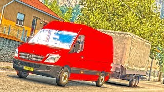 getlinkyoutube.com-Mercedes Benz Sprinter ETS2 (Euro Truck Simulator 2)