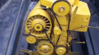 getlinkyoutube.com-Deutz F2L Inboard Diesel Test Run - Hand start