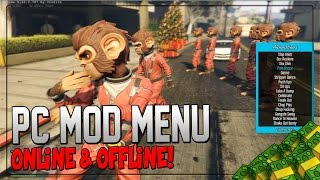 "getlinkyoutube.com-GTA 5 PC Mods - ""Mod Menu"" - ""PC Mod Menu"" Online Cash Dropper (GTA 5 PC Mod Gameplay)"