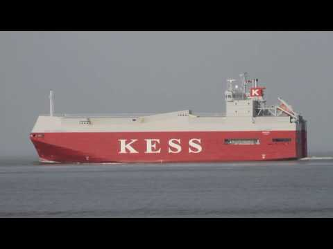 Click to view video EMS HIGHWAY - IMO 9195133 - Germany - Elbe - Otterndorf