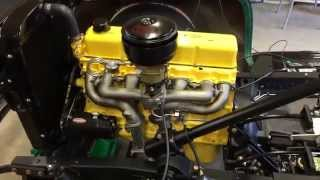 getlinkyoutube.com-First Fire: My 1957 Chevrolet 261 Stovebolt engine comes to life.