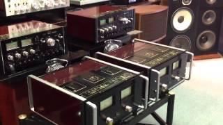 getlinkyoutube.com-Sansui BA-5000 power amp twins, Vintage Hifi, Definition Se