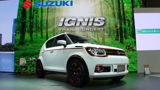 getlinkyoutube.com-(HD)SUZUKI IGNIS TRAIL CONCEPT スズキ・イグニス トレイルコンセプト - 東京モーターショー2015
