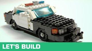 getlinkyoutube.com-LEGO - Let's Build - US-Polizeiauto