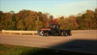 """Tar Top"" 1950 GMC Slammed Air Ride Patina Hot Rat Street Rod Pickup FOR SALE on eBay Now"