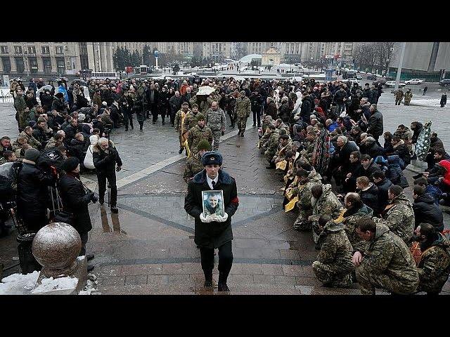 Ukraine - Kämpfe halten an und eskalieren