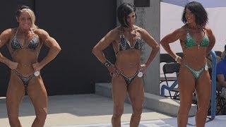 getlinkyoutube.com-Womens Physique Short Prejudge at Muscle Beach - Memorial Day 2014