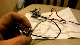 getlinkyoutube.com-Brushless Motor Used as An Alternator, description and test with surprising results!