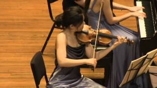 Mozart Piano Trio in G. K. 496. played by Clara Trio (Filmed by SiMon)