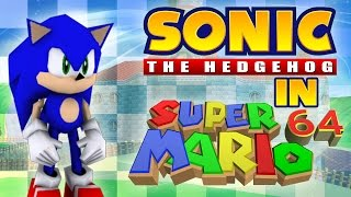 "getlinkyoutube.com-Sonic in Super Mario 64 - ""0 stars"" TAS"