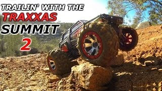 getlinkyoutube.com-TRAXXAS Summit 1/10 RC 4wd - Trailin from the River to the Mountain Top