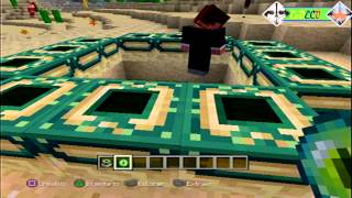 getlinkyoutube.com-Tutorial Minecraft PS3: Portal al END | Con Suscriptores