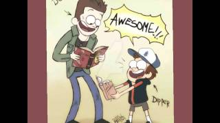 getlinkyoutube.com-supernatural and gravity falls crossover art