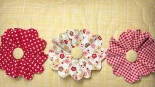 getlinkyoutube.com-How to Make Fun Frilly Fabric Flowers