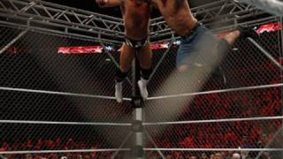 getlinkyoutube.com-Raw: John Cena vs. Alex Riley - Steel Cage Match