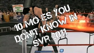 10 moves you don't know in svr 2011