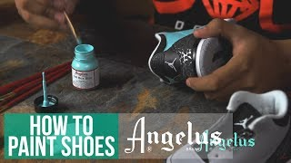getlinkyoutube.com-How To Customize Shoes | Angelus Leather Paint
