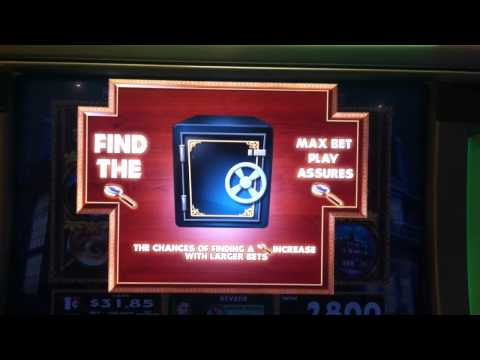 Clue Slot Machine Bonus - Library