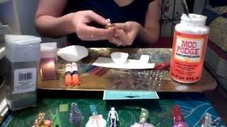 getlinkyoutube.com-DIY: Glittered clothespin gift toppers/ Gift tag holder