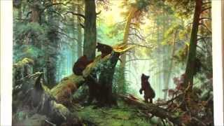 getlinkyoutube.com-Oil Painting Shishkin-Morning in the Pine-tree Forest, 1889