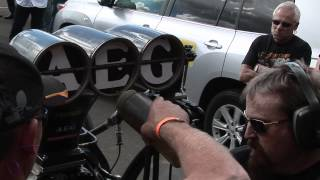 getlinkyoutube.com-DMR TOP FUEL DRAGSTER start up reaction from SHANNONS Car Ins by AEG