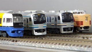 getlinkyoutube.com-鉄道模型〈Nゲージ〉横須賀線&総武快速線大集合