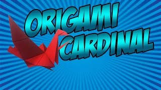 getlinkyoutube.com-NEW Origami Pets! - Wizard101 Origami Cardinal Pet Showcase