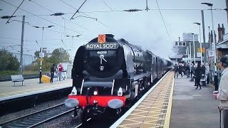 getlinkyoutube.com-46233 - A Duchess In Full Flight Through Newark - The White Rose - 2015