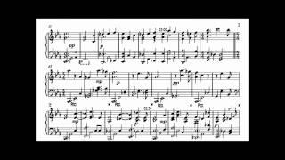 Keith Jarrett - My Wild Irish Rose (Transcription)