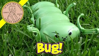 "getlinkyoutube.com-Papa Bug ""Flying On The Grass"" The Electric Creeping Worm"