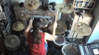 getlinkyoutube.com-Next Big Thing - Brock Lesnar WWE ( Drums cover )