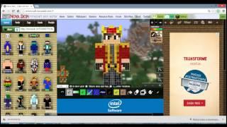 getlinkyoutube.com-Video Bônus do Canal   Como Botar uma Skin no seu Minecraft Shiginima Launcher High quality and size