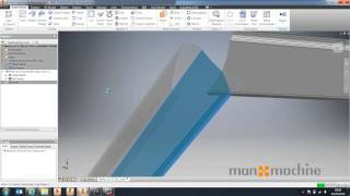 Autodesk Inventor How To: Split Parts Using Surfaces